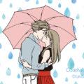 梅雨KISS できました